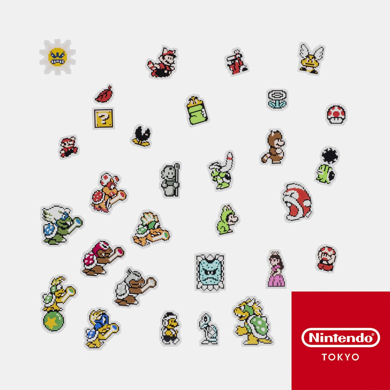 フレークシール スーパーマリオブラザーズ3【Nintendo TOKYO取り扱い商品】