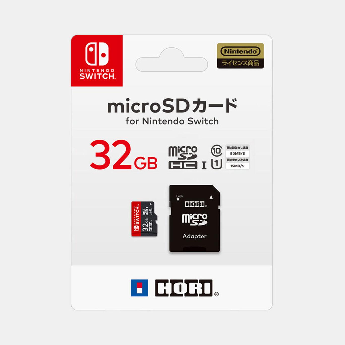 HORI microSDカード for Nintendo Switch 32GB