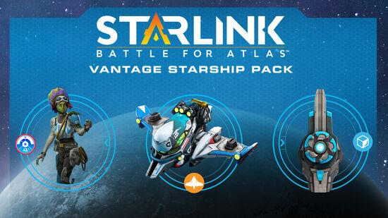 スターリンク バトル・フォー・アトラス - スターシップパック:ヴァンテージ