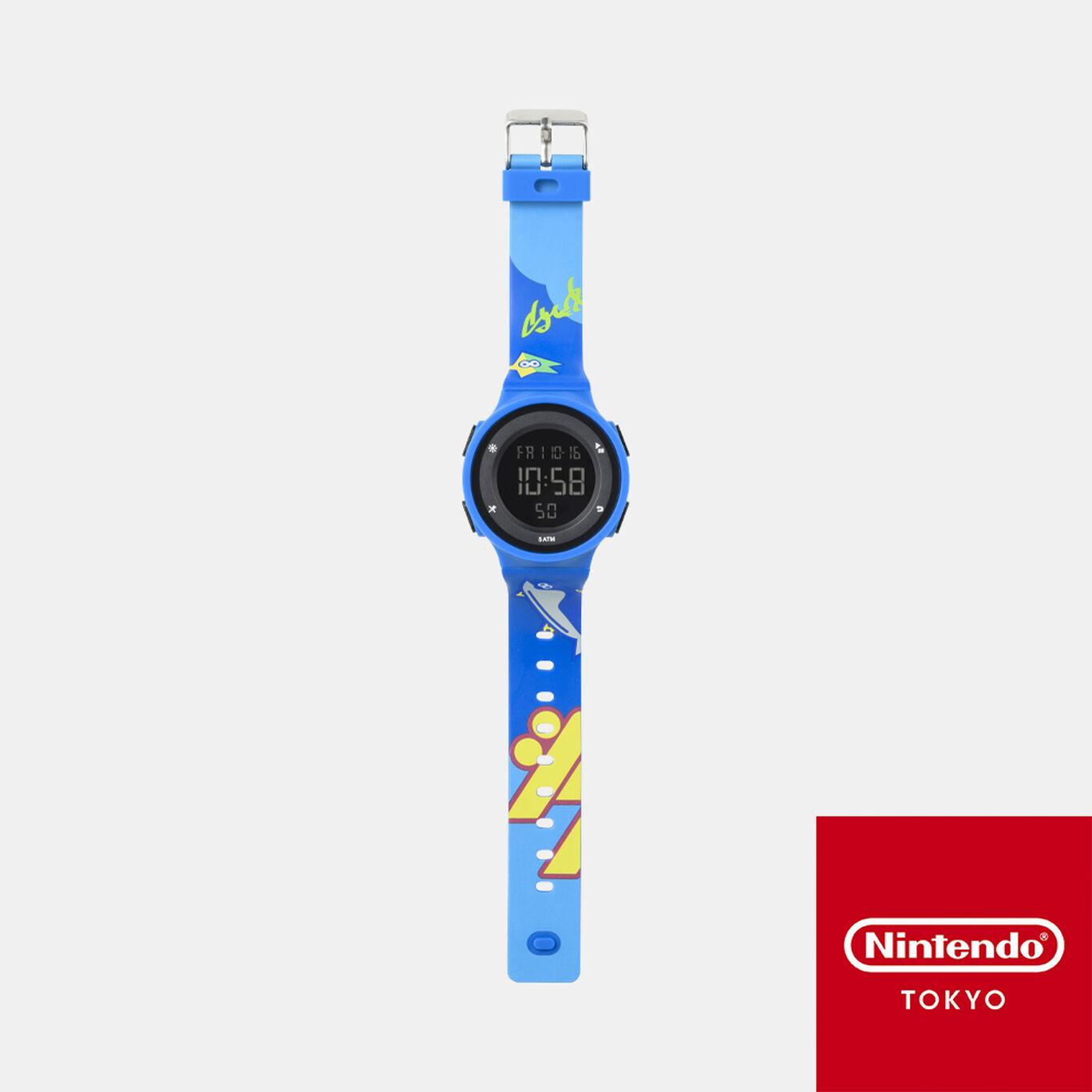 【新規追加商品】ウォッチ ブルー INK YOU UP【Nintendo TOKYO取り扱い商品】