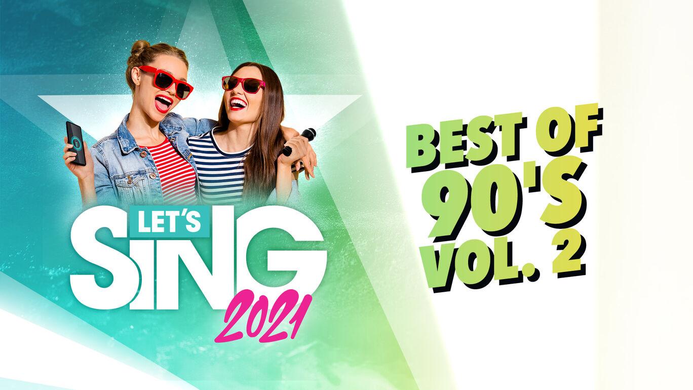 レッツシング2021 - Best of 90's Vol. 2 Song Pack