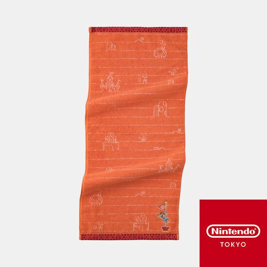 フェイスタオル スーパーマリオファミリーライフ マリオ【Nintendo TOKYO取り扱い商品】