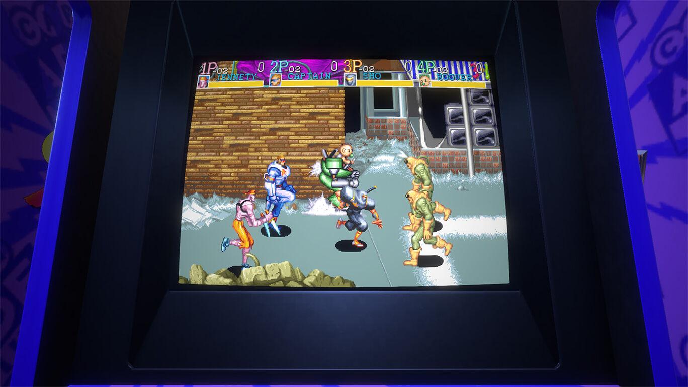 Capcom Arcade Stadium:キャプテンコマンドー