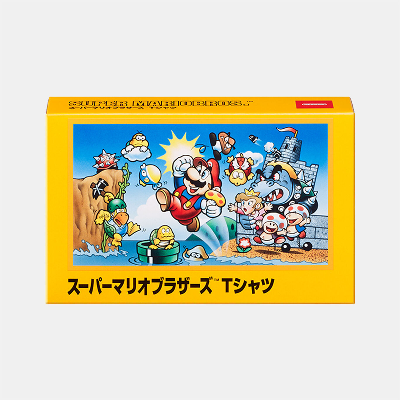 Tシャツ スーパーマリオブラザーズ L【Nintendo TOKYO取り扱い商品】