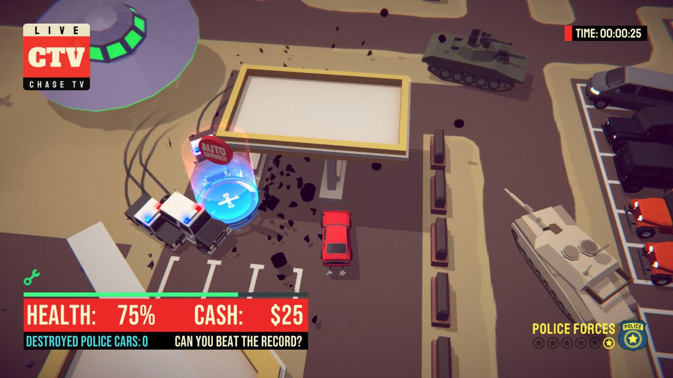 OMG Police - Car Chase TV Simulator | オムグポリス