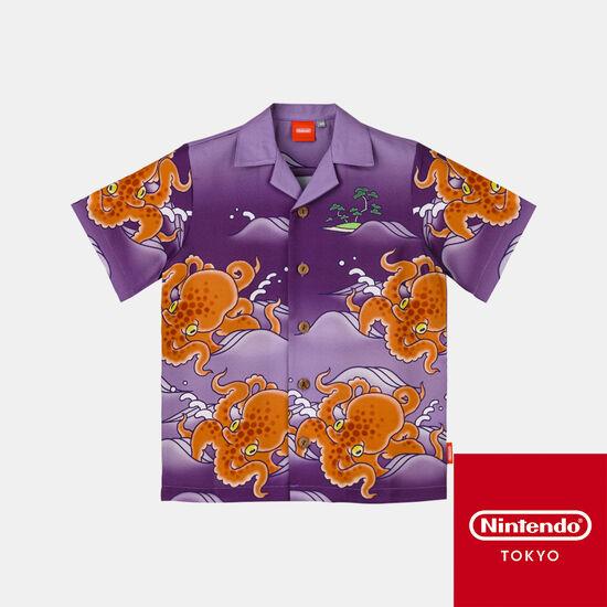 チリメンタコアロハ Splatoon【Nintendo TOKYO取り扱い商品】