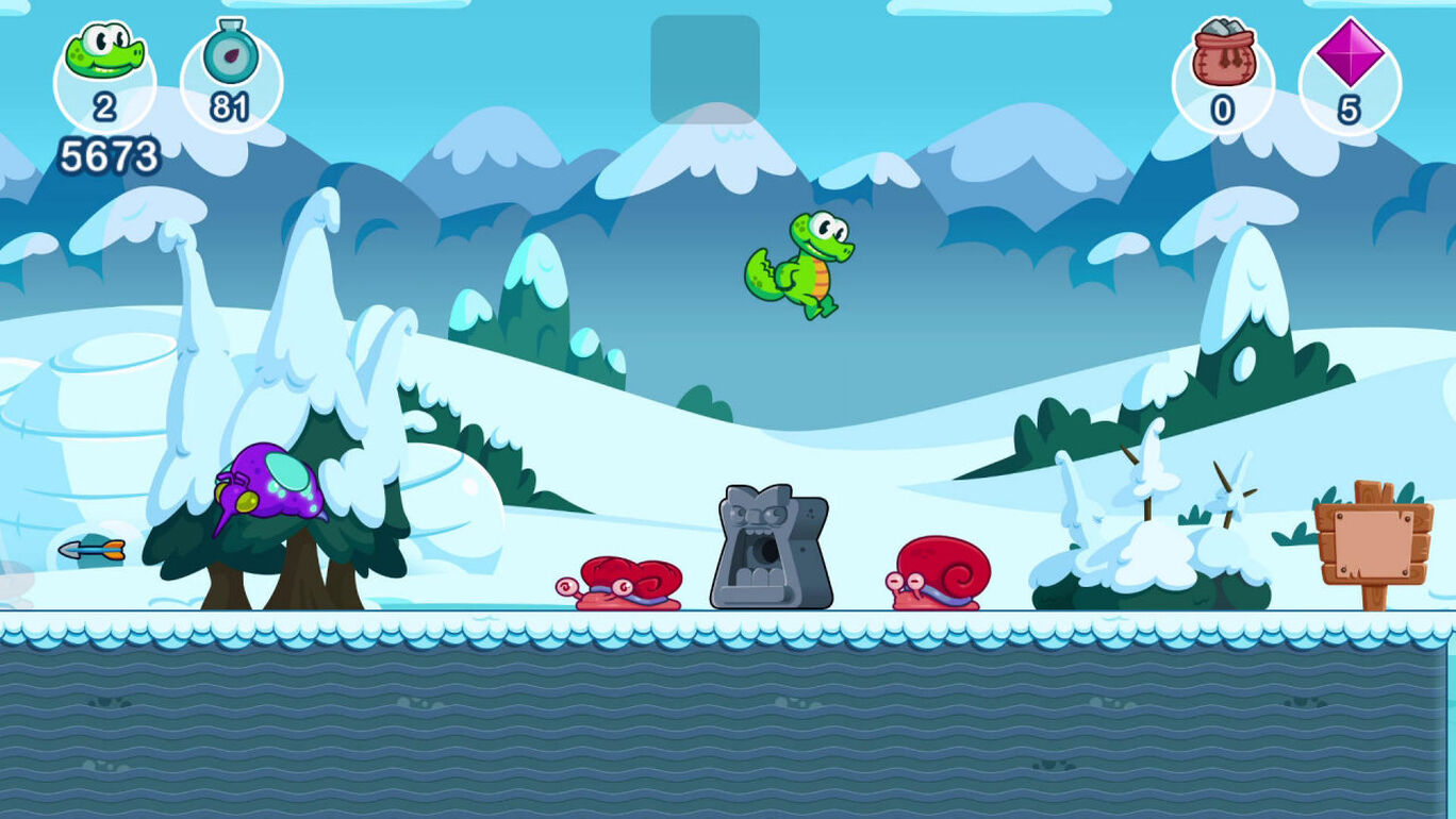 Croc's World 3 (クロックス・ワールド!ワニ君の大冒険3)