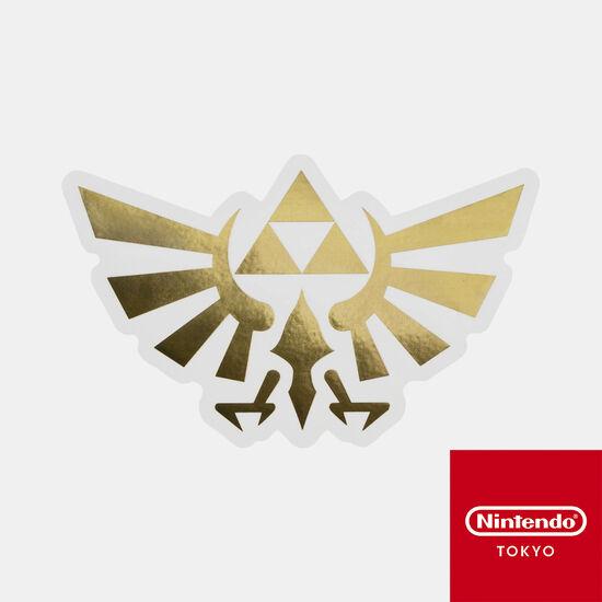 ダイカットステッカー ゼルダの伝説 B【Nintendo TOKYO取り扱い商品】
