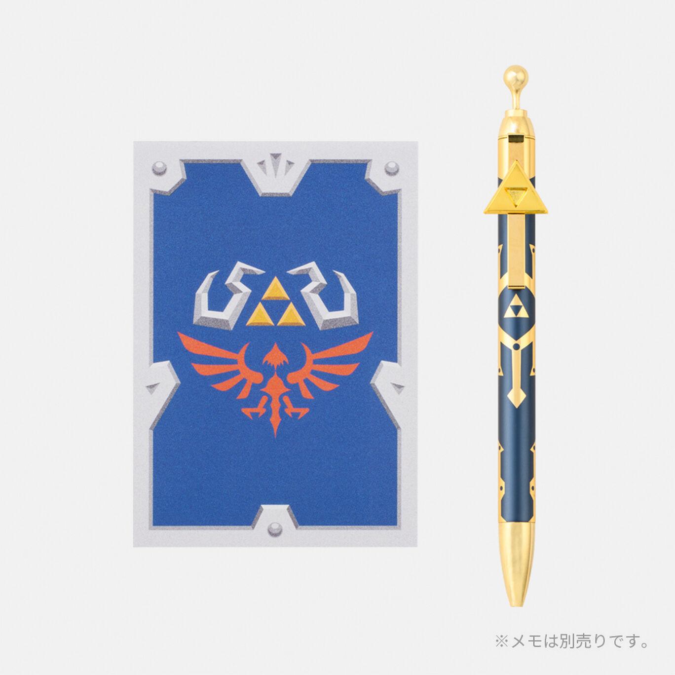 ボールペン 真のマスターソード ゼルダの伝説 スカイウォードソード HD【Nintendo TOKYO取り扱い商品】