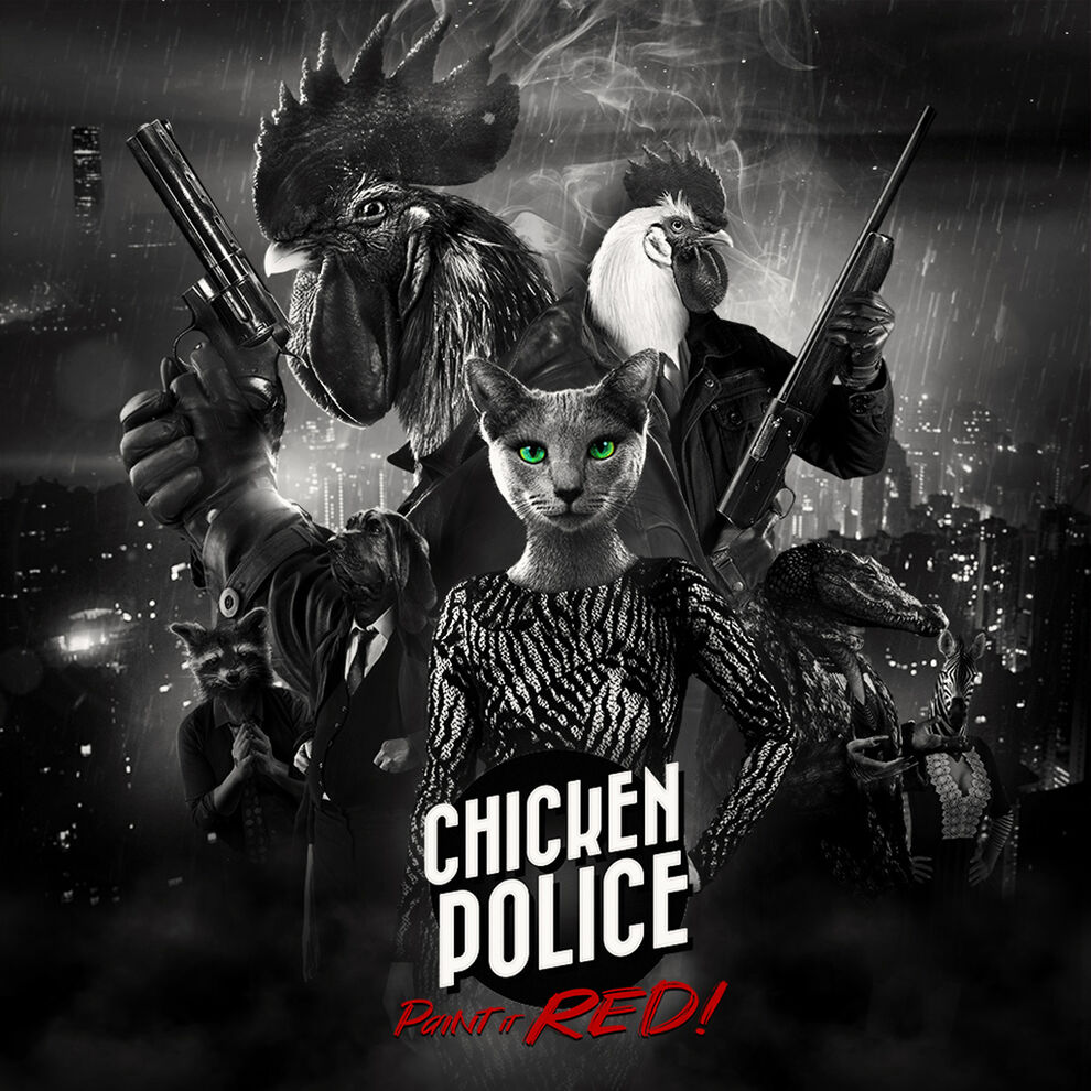 Chicken Police – Paint it RED!(チキンポリス)