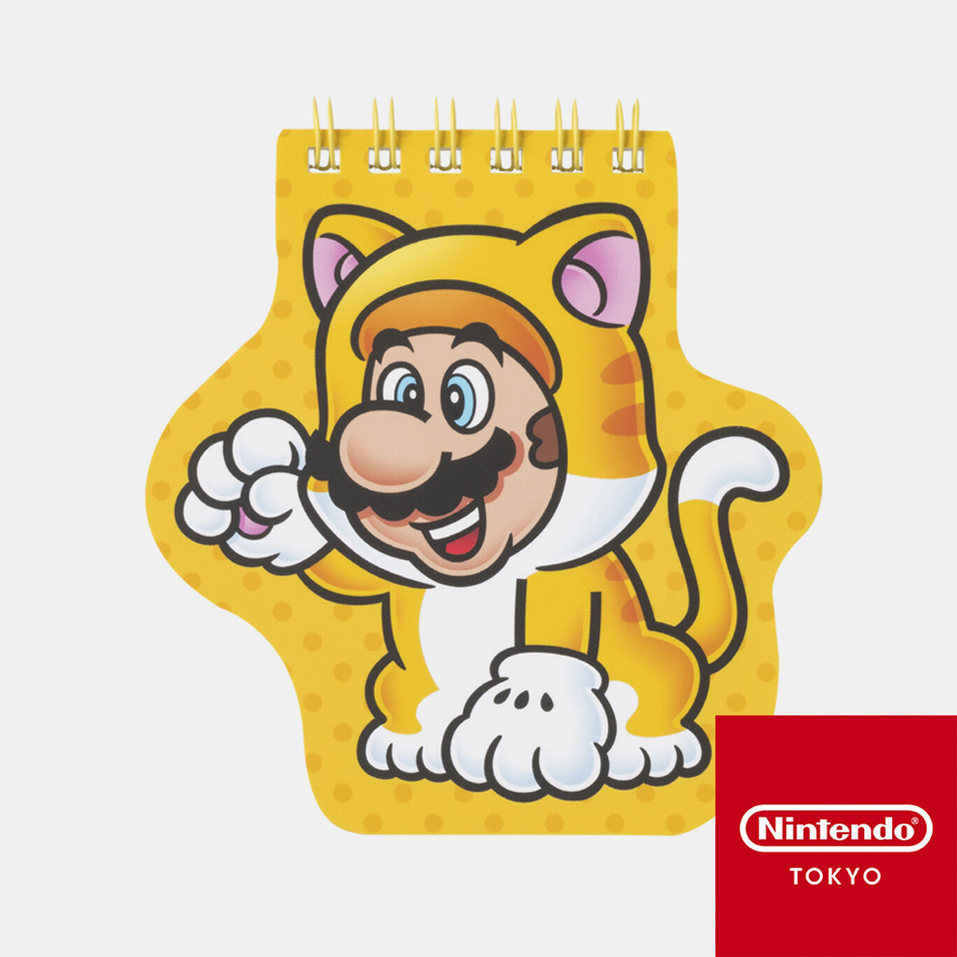 ダイカットメモ帳 スーパーマリオ パワーアップ C【Nintendo TOKYO取り扱い商品】
