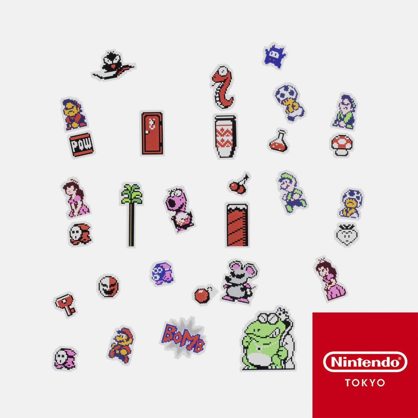 フレークシール スーパーマリオUSA【Nintendo TOKYO取り扱い商品】