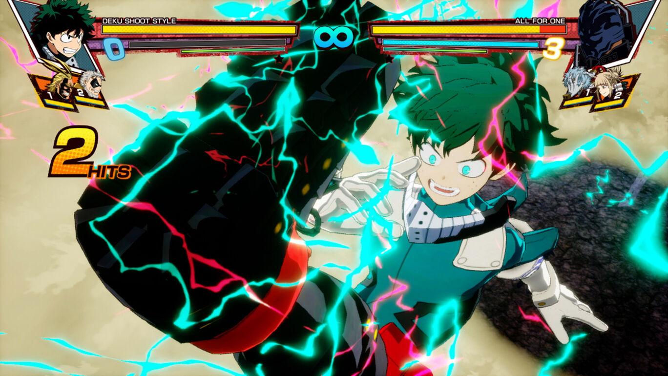 僕のヒーローアカデミア One's Justice:プレイアブルキャラ 緑谷出久シュートスタイル