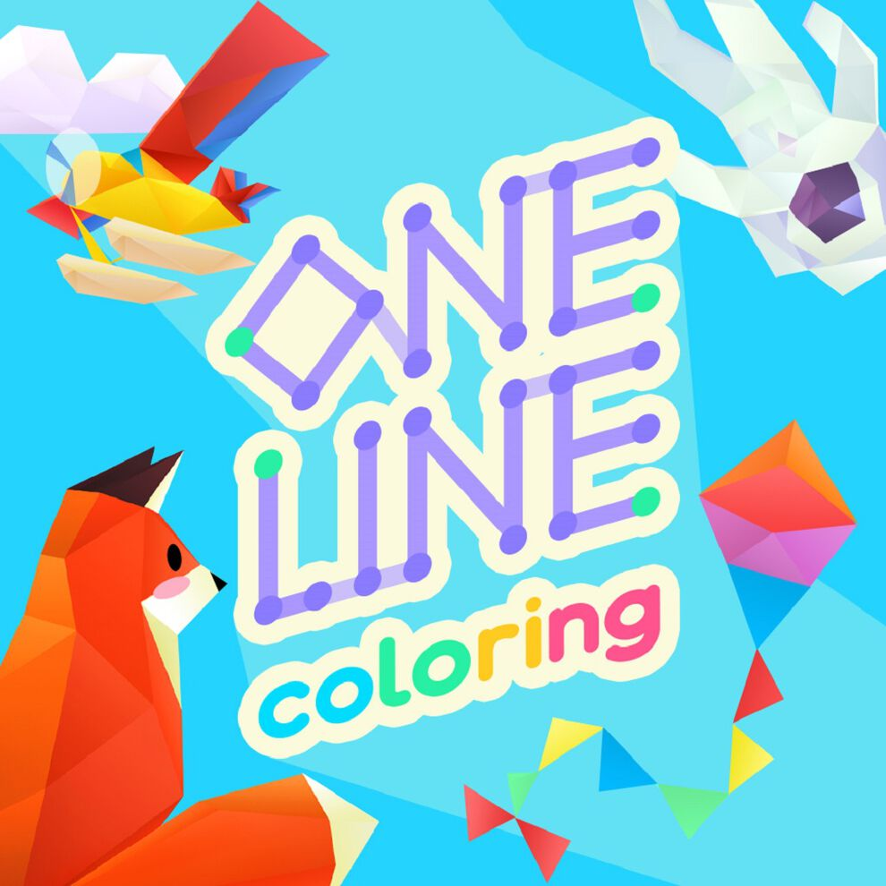 One Line Coloring - ワンラインカラーリング