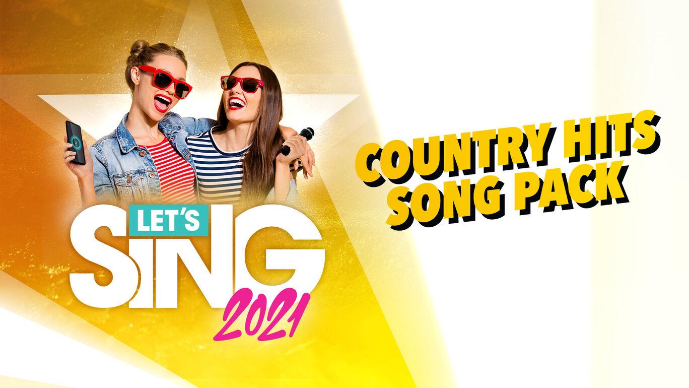 レッツシング2021 - Country Hits Song Pack