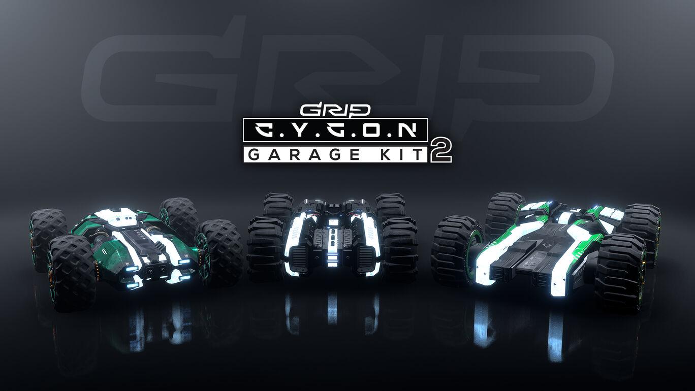 追加コンテンツ「Cygonガレージキット2」