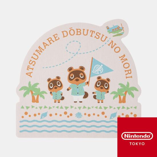 ダイカットステッカーB あつまれ どうぶつの森【Nintendo TOKYO取り扱い商品】