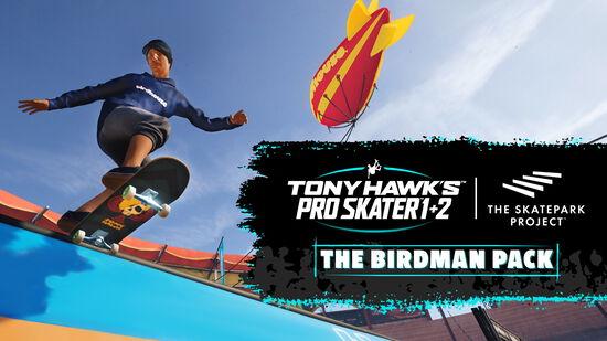 トニー・ホーク™ プロ・スケーター™ 1 + 2 - バードマンパック