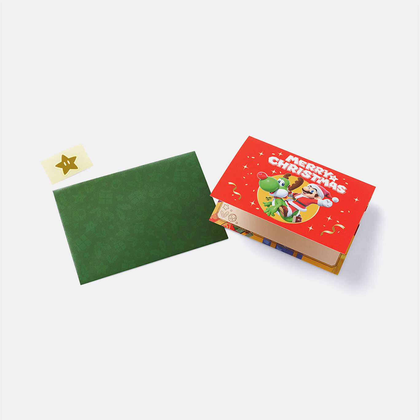 ラッピングバッグ&メッセージカード