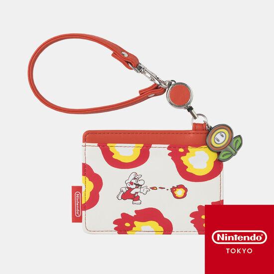 リールパスケース スーパーマリオ パワーアップ C【Nintendo TOKYO取り扱い商品】