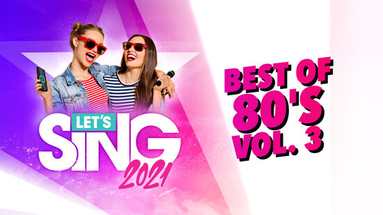 レッツシング2021 - Best of 80's Vol. 3 Song Pack