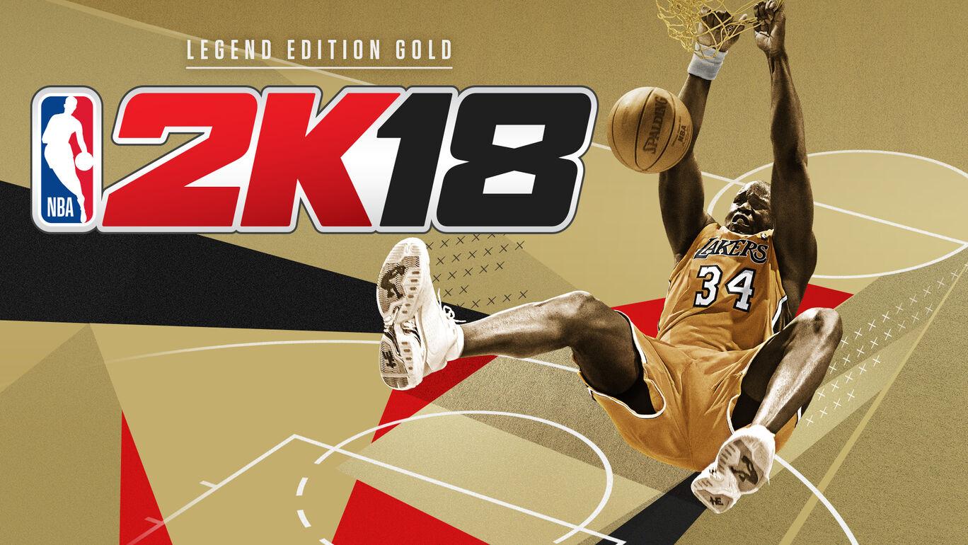 NBA 2K18 レジェンド エディション ゴールド