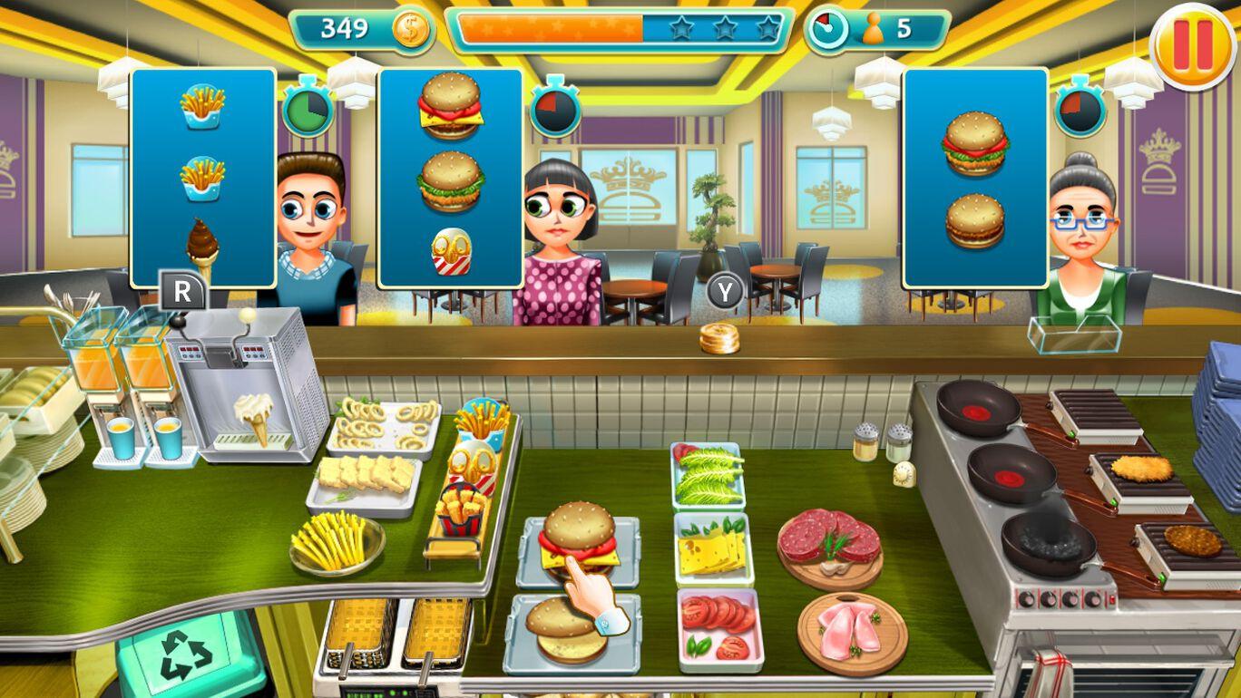 Burger Chef Tycoon 拡張パック #1
