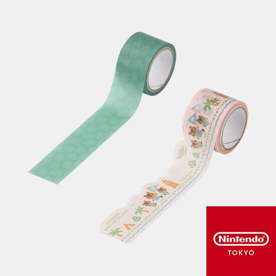 マスキングテープ あつまれ どうぶつの森【Nintendo TOKYO取り扱い商品】