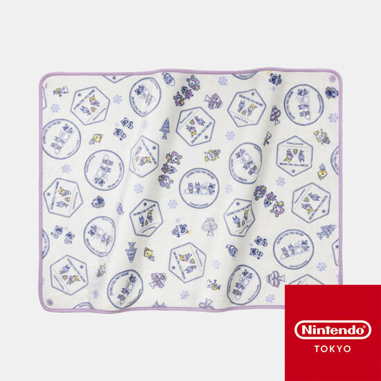 3WAYブランケット どうぶつの森【Nintendo TOKYO取り扱い商品】