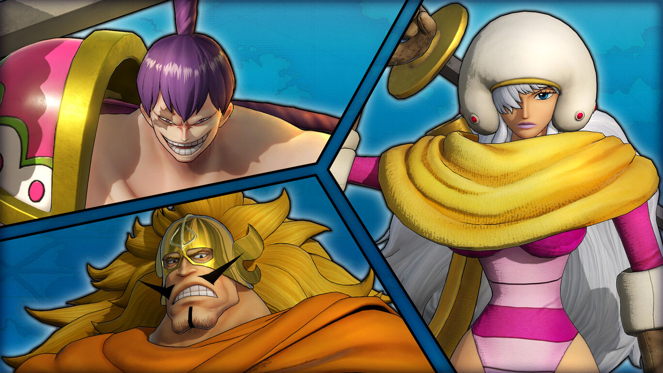 ONE PIECE 海賊無双4 キャラクターパック第1弾:ホールケーキアイランドパック