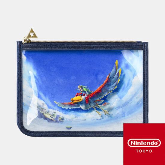 クリアポーチ ゼルダの伝説 スカイウォードソード HD【Nintendo TOKYO取り扱い商品】
