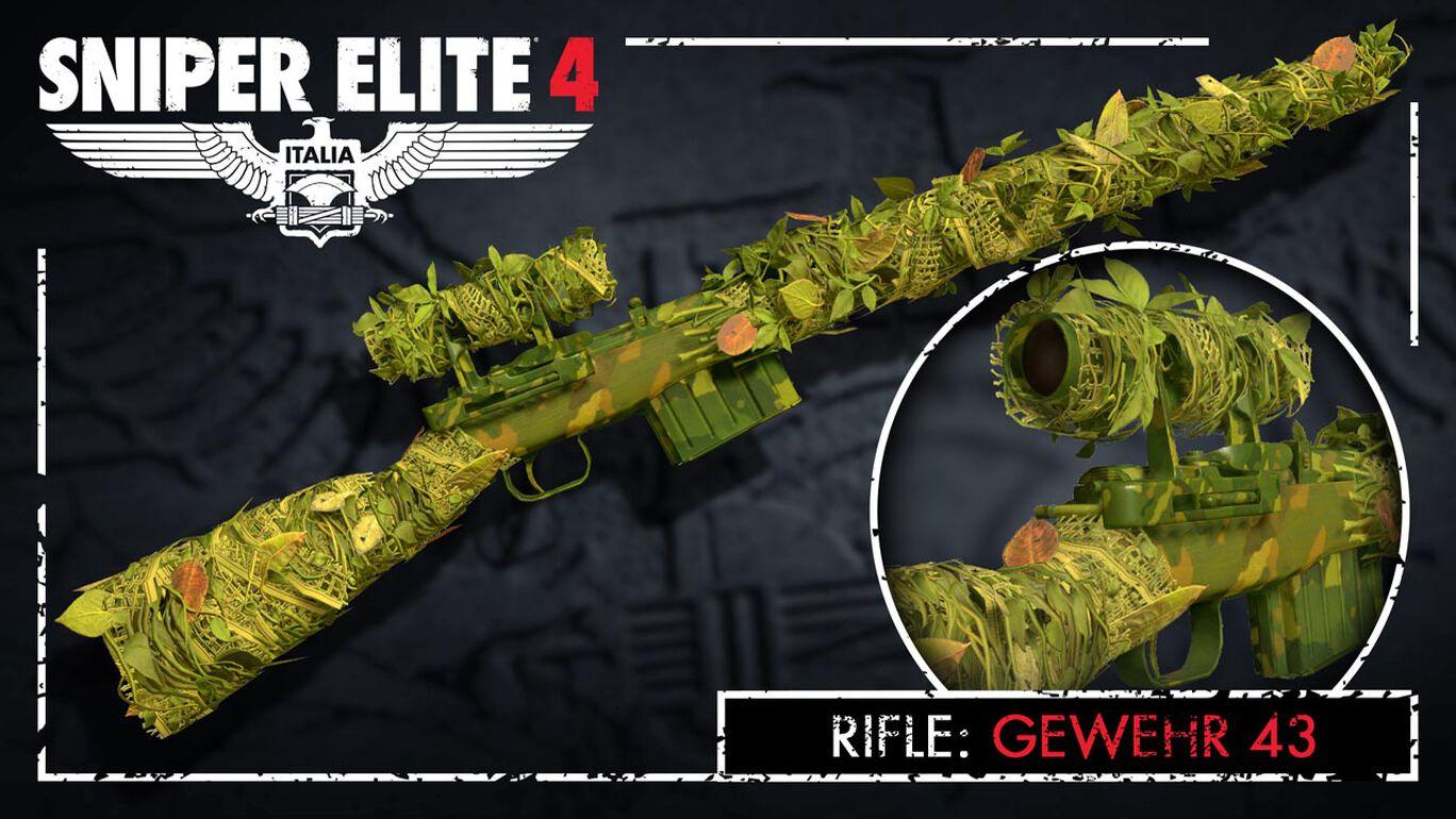 Sniper Elite 4 - Camouflage Rifles Skin Pack