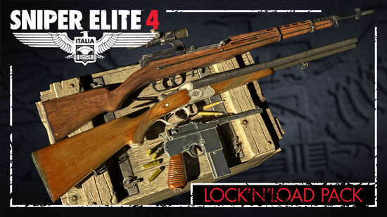 Sniper Elite 4 - Lock and Load Weapons Pack