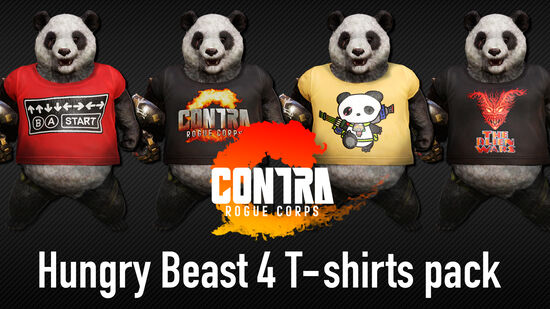Hungry Beast 4 T-shirts Pack