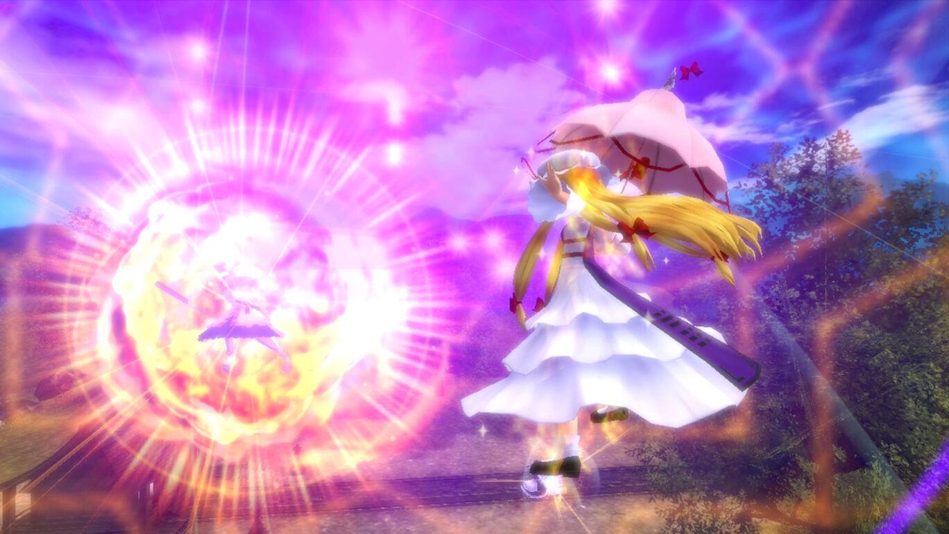 東方スカイアリーナ・プレイアブルキャラクター「八雲紫」