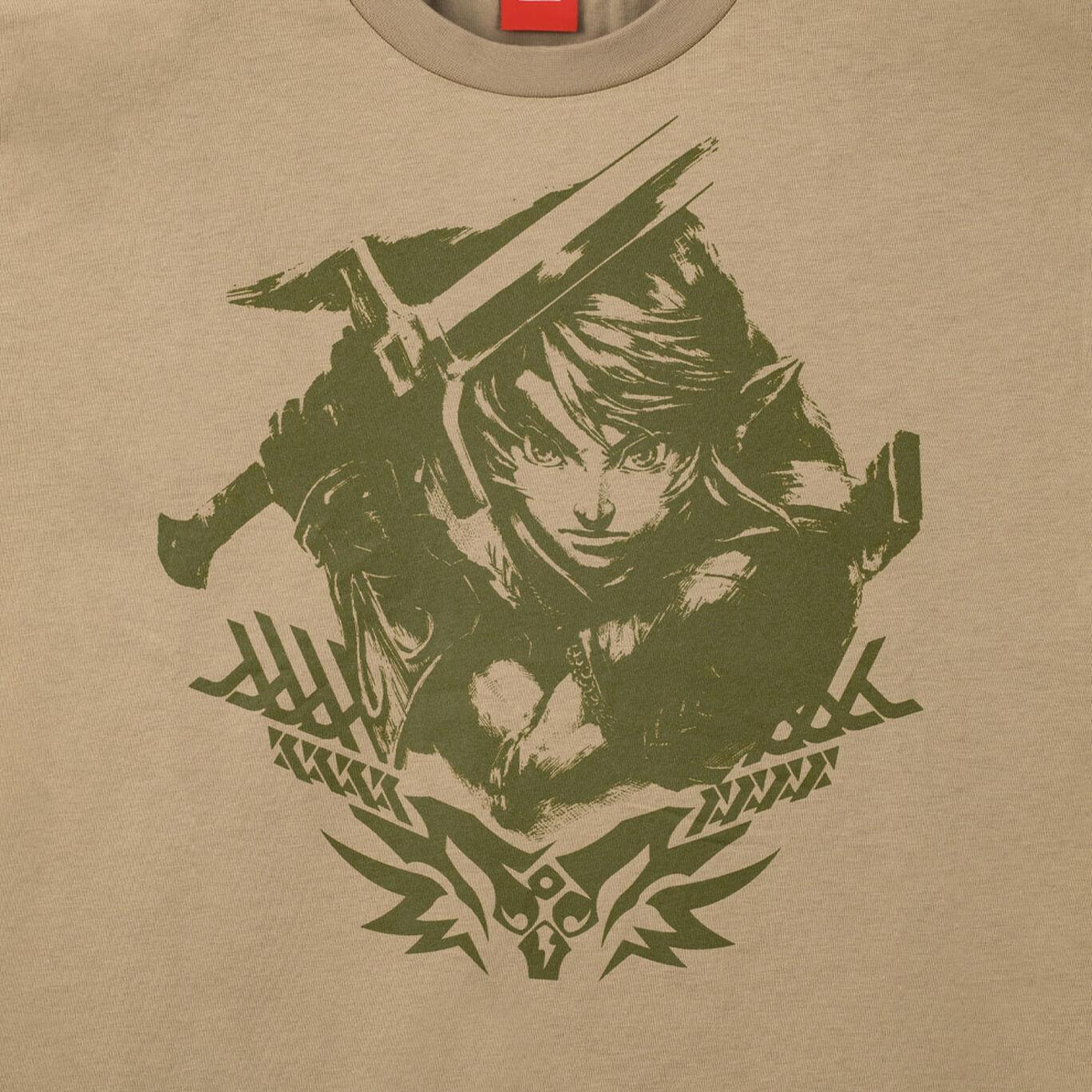 Tシャツ トライフォース リンク S ゼルダの伝説【Nintendo TOKYO取り扱い商品】