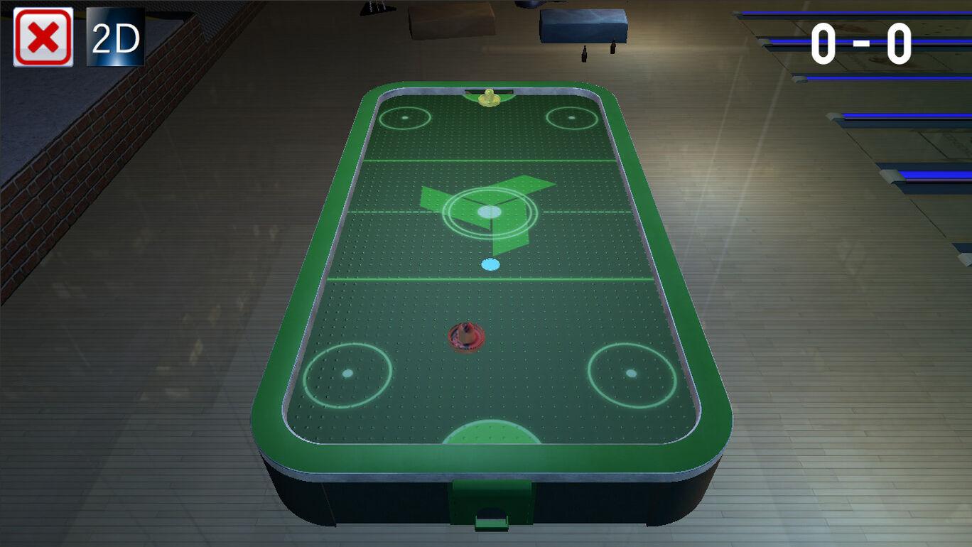 3D Air Hockey (エアホッケー)