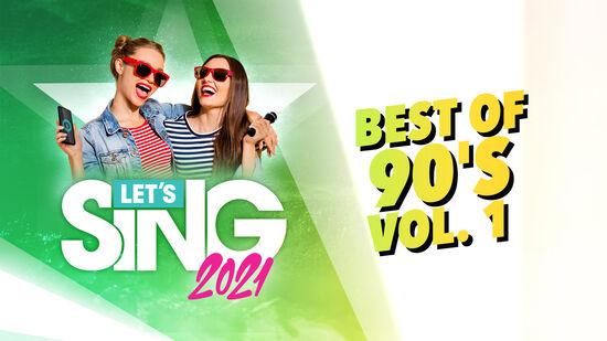 レッツシング2021 - Best of 90's Vol. 1 Song Pack