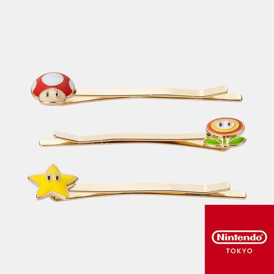 ヘアピンセット スーパーマリオ【Nintendo TOKYO取り扱い商品】