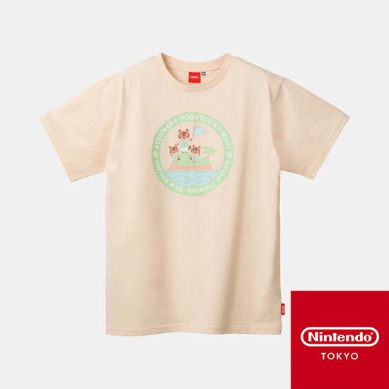 TシャツA あつまれ どうぶつの森【Nintendo TOKYO取り扱い商品】