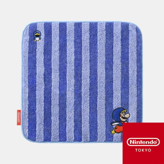 ミニタオル スーパーマリオ パワーアップ D【Nintendo TOKYO取り扱い商品】