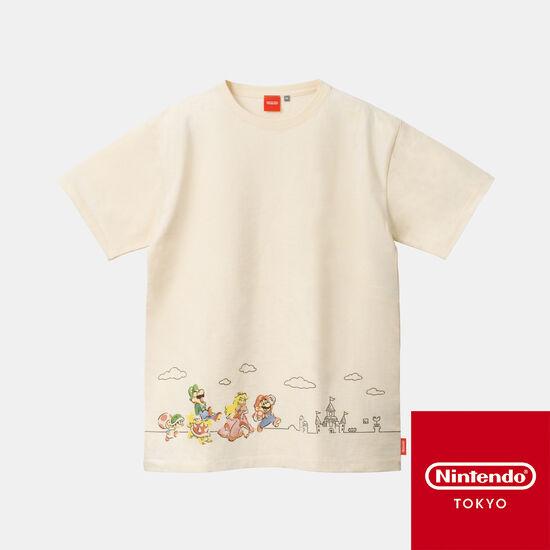 Tシャツ スーパーマリオファミリーライフ A 【Nintendo TOKYO取り扱い商品】