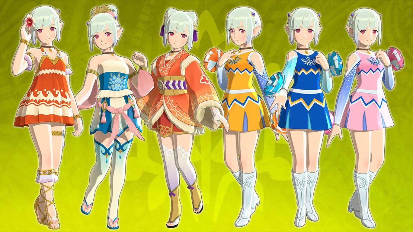 エナの衣装:DLCセット
