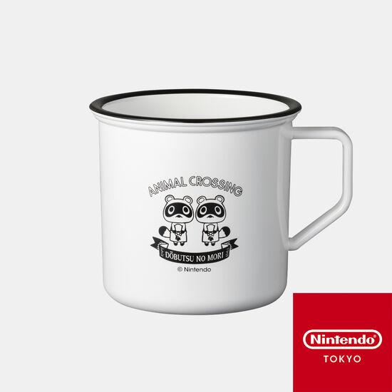 ホーロー風マグカップ どうぶつの森 B【Nintendo TOKYO取り扱い商品】