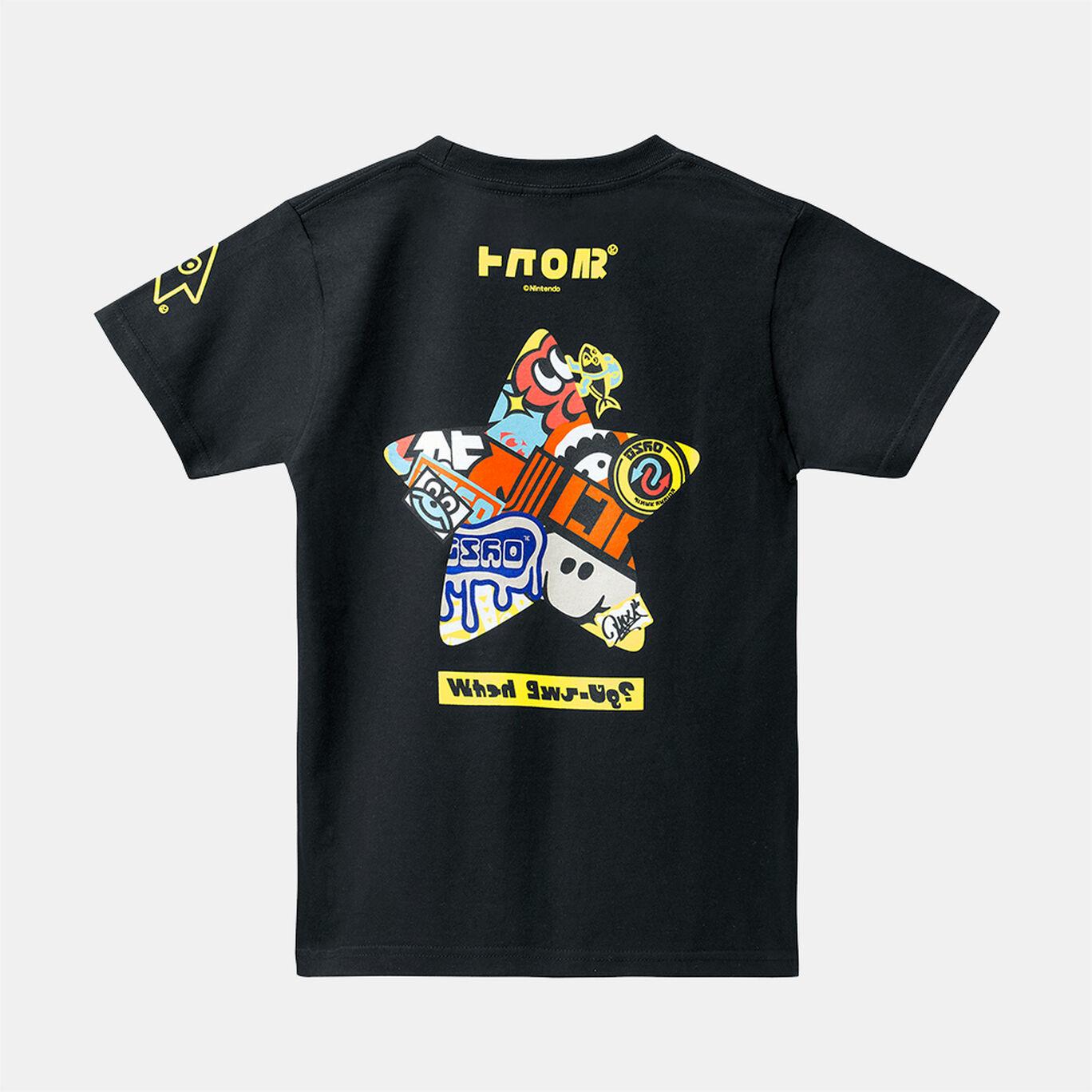 【140cmサイズ】スプラトゥーン2 フェスTシャツ スーパースター