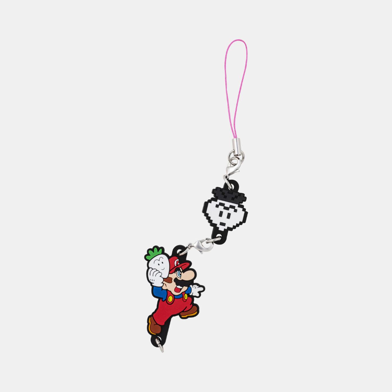 つながるラバーストラップ スーパーマリオUSA【Nintendo TOKYO取り扱い商品】