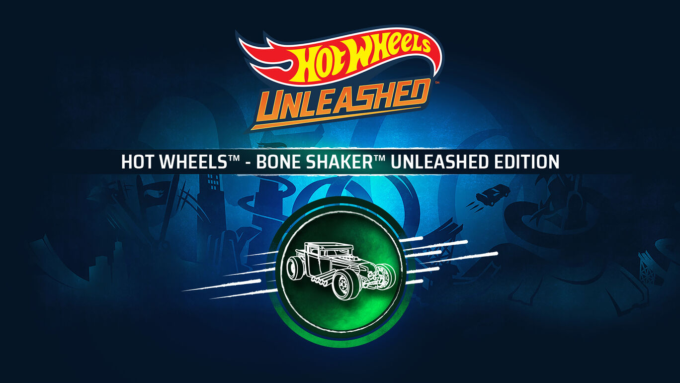 HOT WHEELS™ - Bone Shaker™ Unleashed Edition