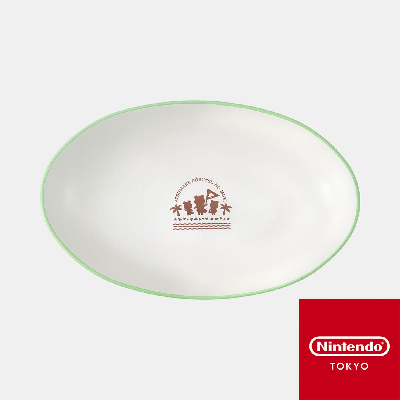 カリー&パスタプレート あつまれ どうぶつの森【Nintendo TOKYO取り扱い商品】
