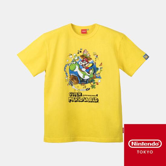 Tシャツ スーパーマリオワールド 【Nintendo TOKYO取り扱い商品】