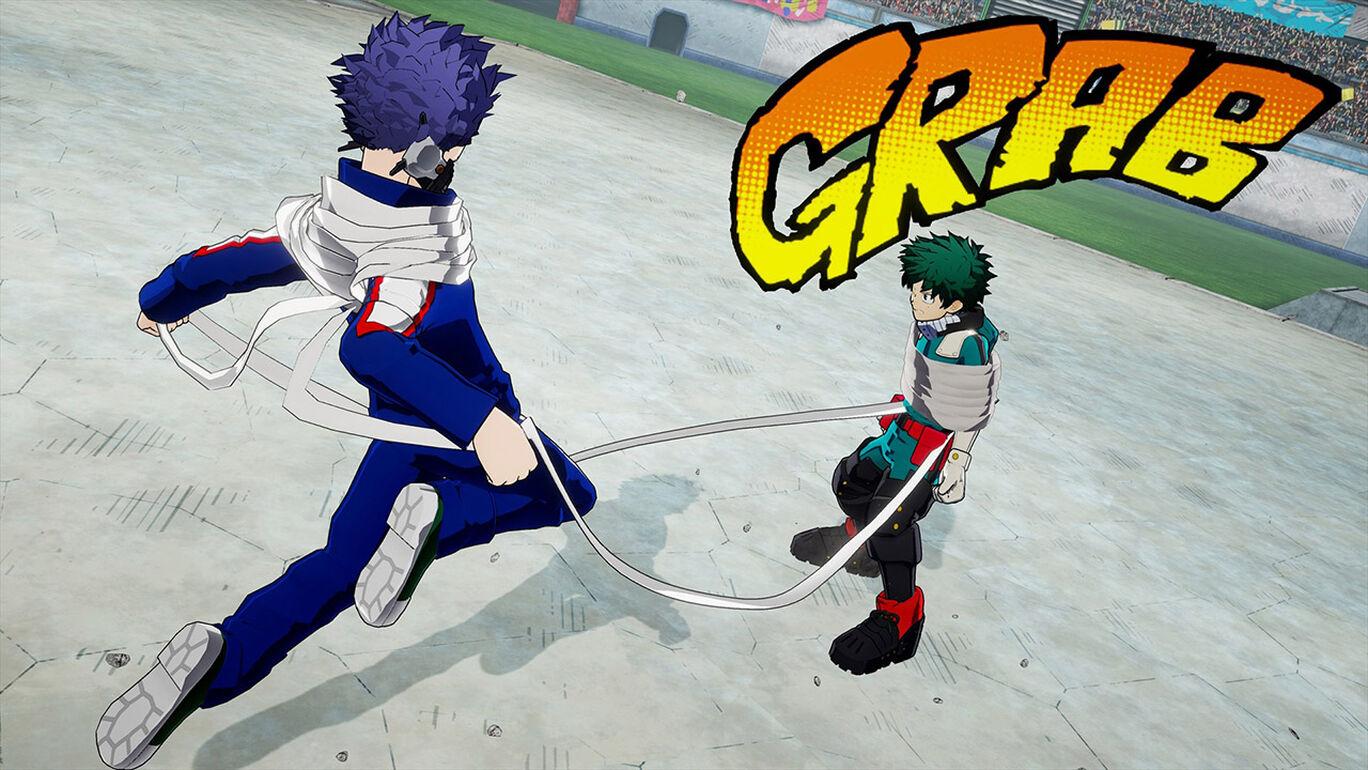 僕のヒーローアカデミア One's Justice2:プレイアブルキャラクター「心操人使」